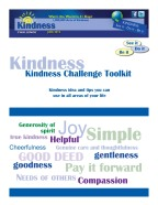 Kindness Challenge Toolkit
